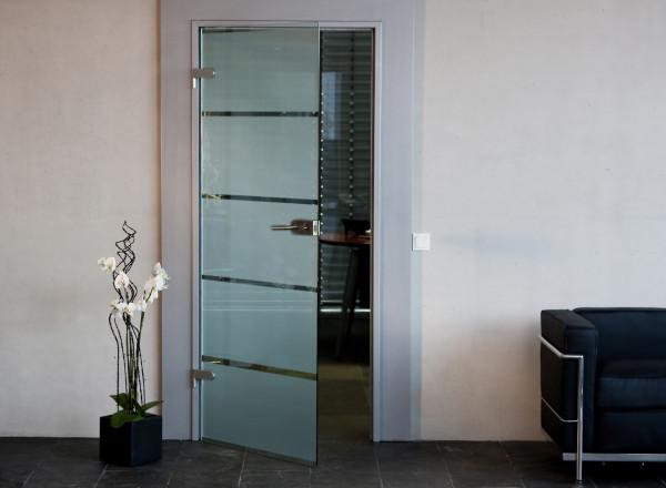 2. Wahl Glastüren im Sonderdesign